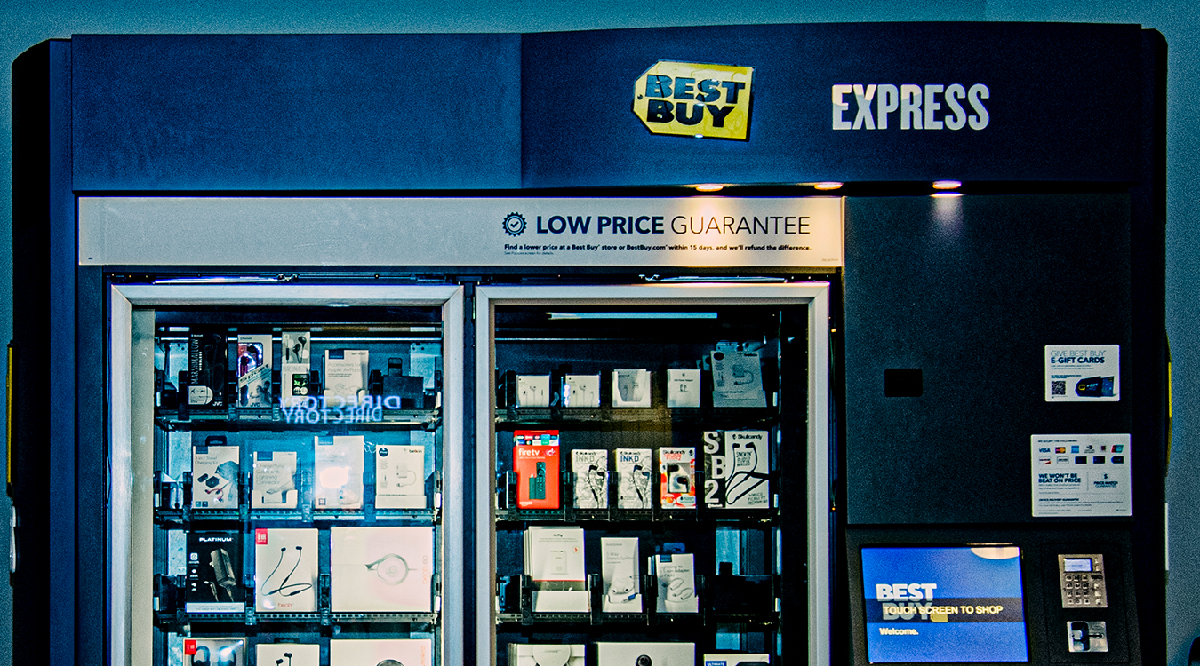 Best Buy Express – Automated Kiosk